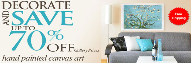 75% Off Gallery Price