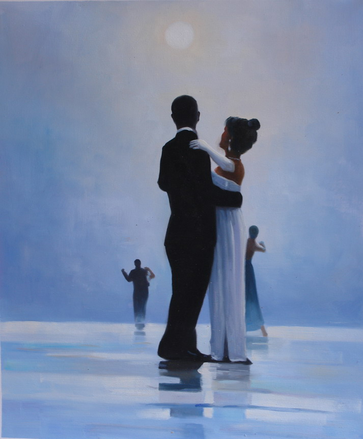 100% Handmade Museum Quality:Dance Oil Painting