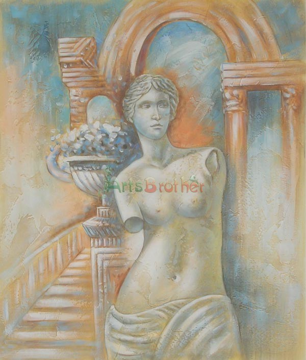 100% Handmade Museum Quality:Modern Oil Paintings