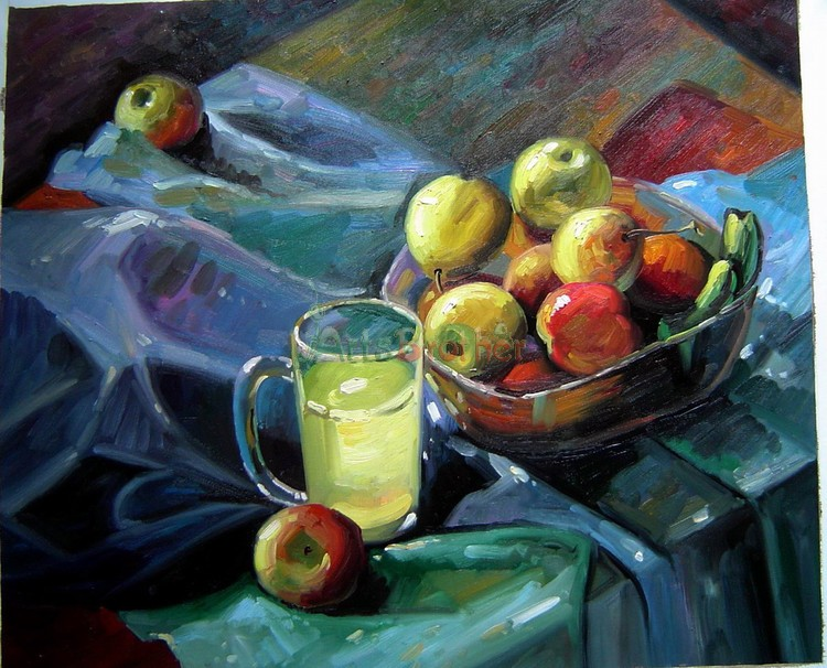 100% Handmade Museum Quality:Still Life Paintings